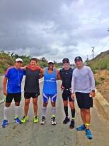 Saburó e amigos do Corporesano Running