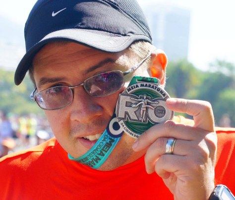 Medalha Meia do Rio 2013