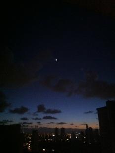 Nascer do Sol no Recife