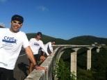 CFDS no Viaduto da Serra das Russas