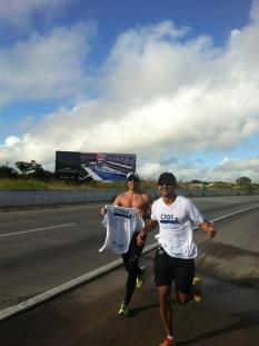 Treinando para Meia Maratona do Rio 2013