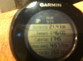 Resultado Flávio na Meia Maratona do Rio 2013
