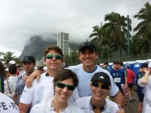 Rodrigo, Baby, Carla e Mari