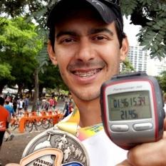 Thi após a Meia do Rio 2013
