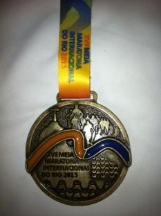 Medalha Meia do Rio de Janeiro 2013