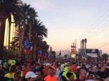 Concentração da Maratona de Las Vegas