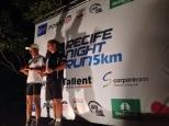 Pódio - Recife Night Run 2013