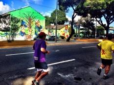 Grafite na Av. João de Barros