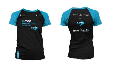 Camisa  Meia Maratona Powerade 2014