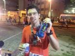 Freire Neto, que veio de Natal, e fez um treino de 30km