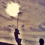 Pescador ao vivo