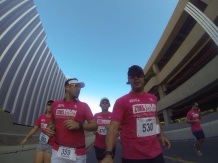 CFDS no estacionamento do Shopping Recife- Track&Field Run Series