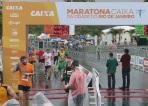 Chegada Maratona do Rio de Janeiro 2014