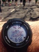 Tempo Vlad - Maratona de Buenos Aires