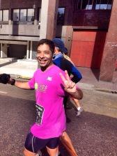 Eraldo na Maratona de Buenos Aires
