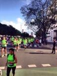 Início da Maratona de Buenos Aires 2014